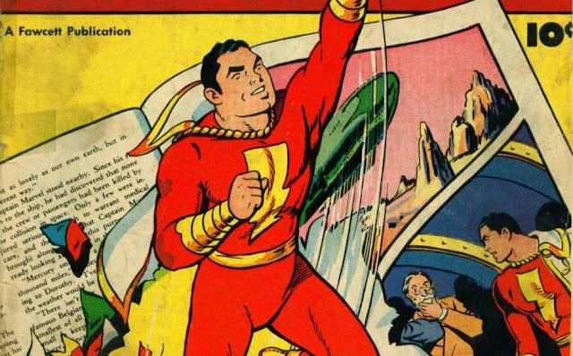 Asal-Usul Captain Marvel (Shazam) dari DC Comics