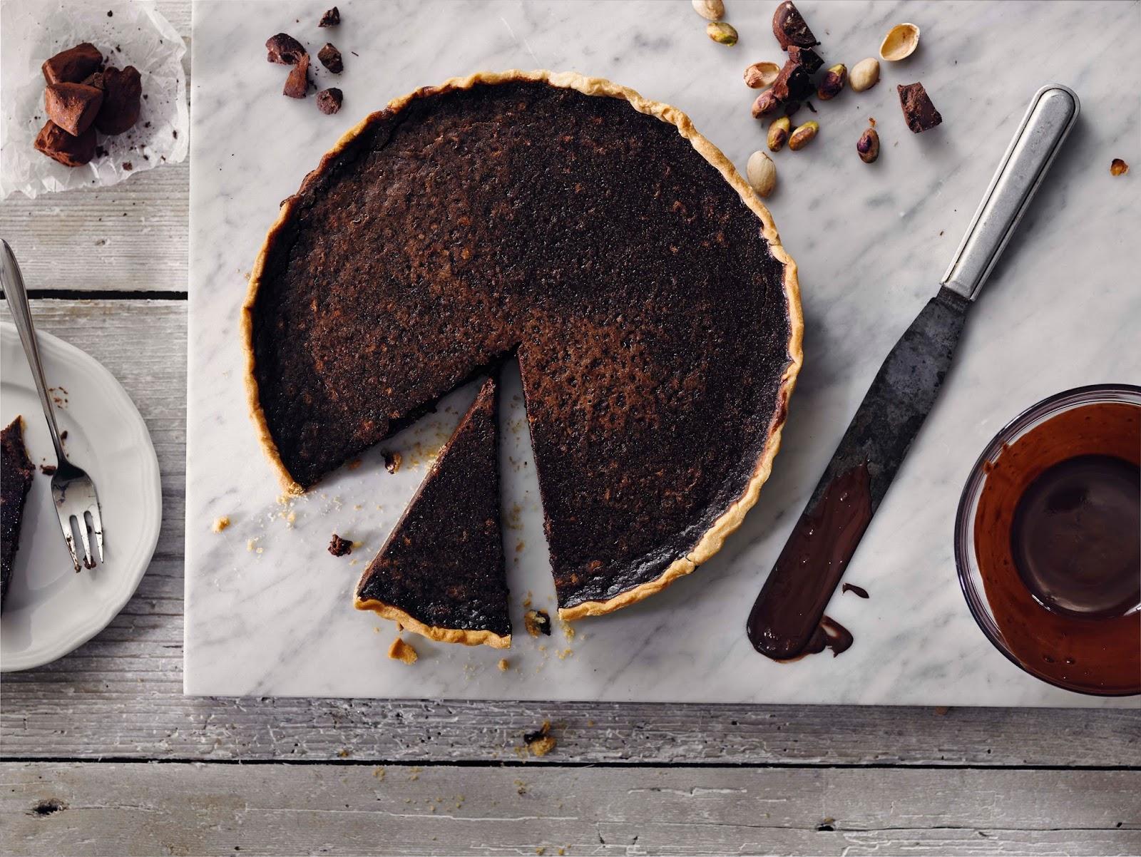 Monty Bojangles Pistachio Marooned Chocolate Tart