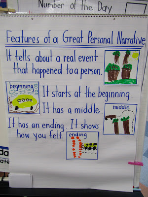 teaching students to write a personal narrative