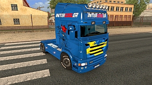 Sweden v2 skin for Scania RJL