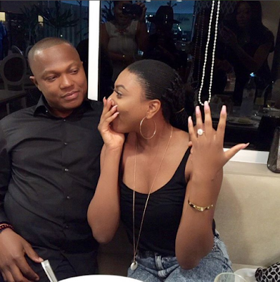 Television Presenter  Stephanie Coker  got Engage