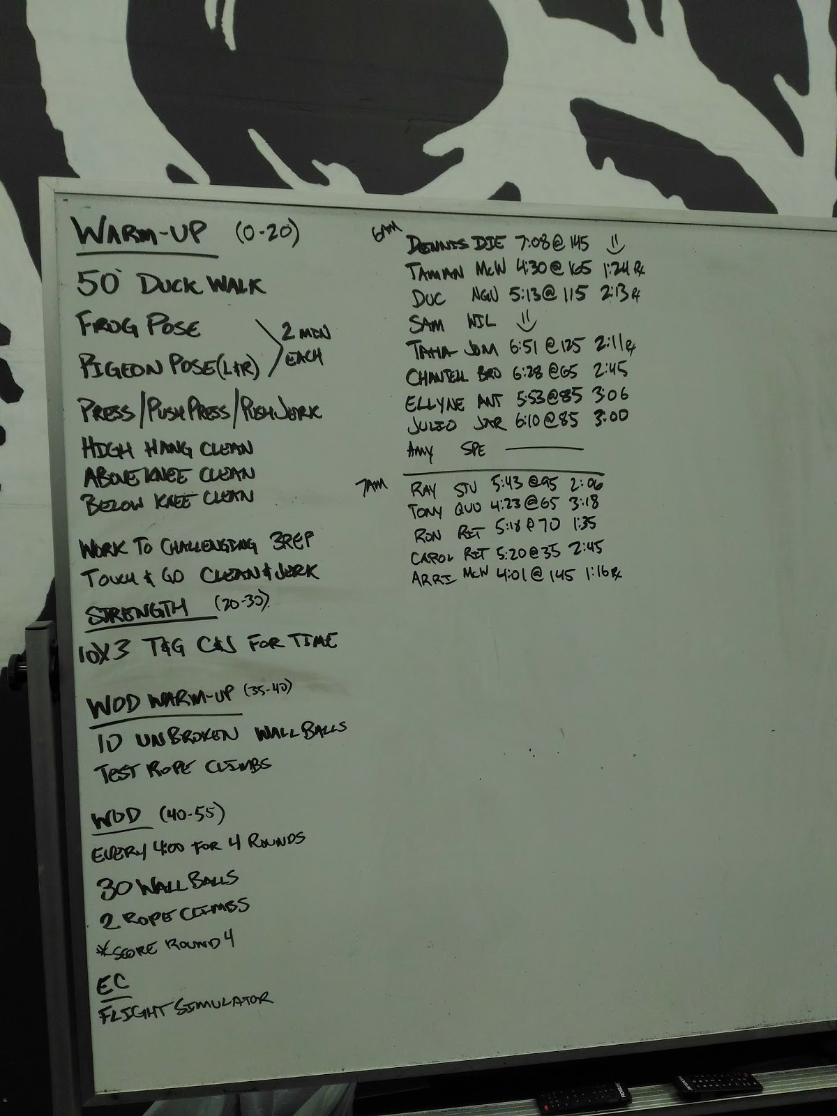 Crossfit Armoury - November 14, 2016: Touch-n-Go C&J