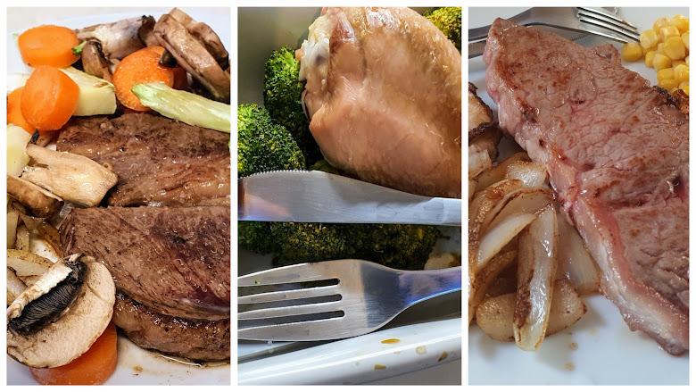 簡易煮食-牛排、烤雞、還是牛排