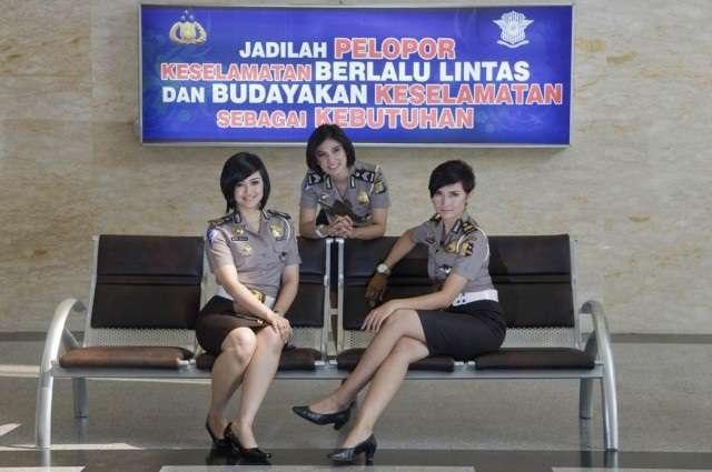 Tanggal 1 September Hari Jadi Polwan ( Polisi Wanita Indonesia )