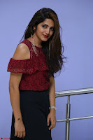 Pavani Gangireddy in Cute Black Skirt Maroon Top at 9 Movie Teaser Launch 5th May 2017  Exclusive 009.JPG