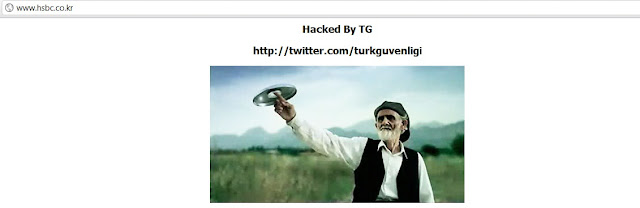 Korean HSBC bank hacked TurkGuvenligi (TG)