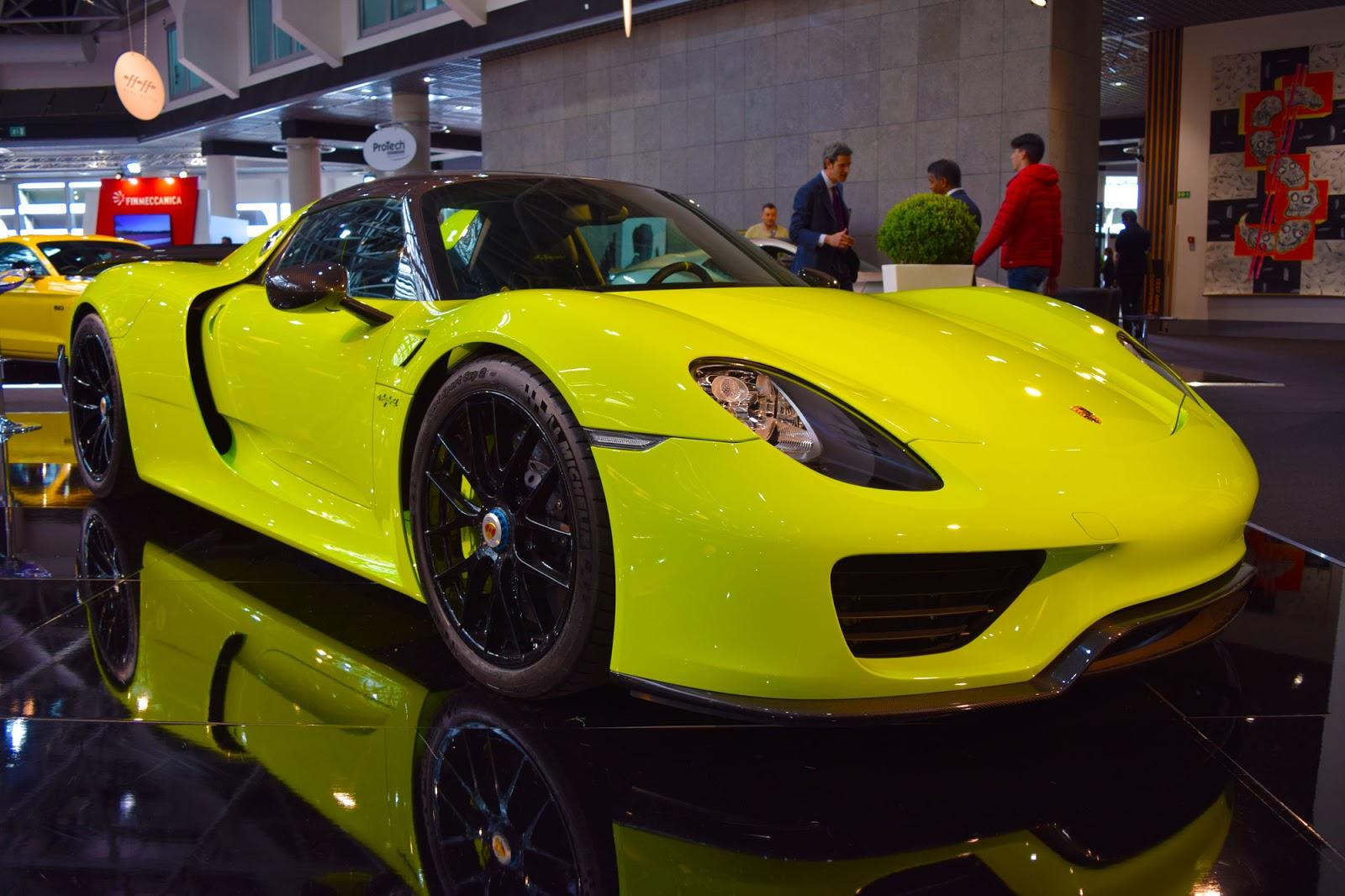Acid Green Porsche 918 Steals The Show At Top Marques