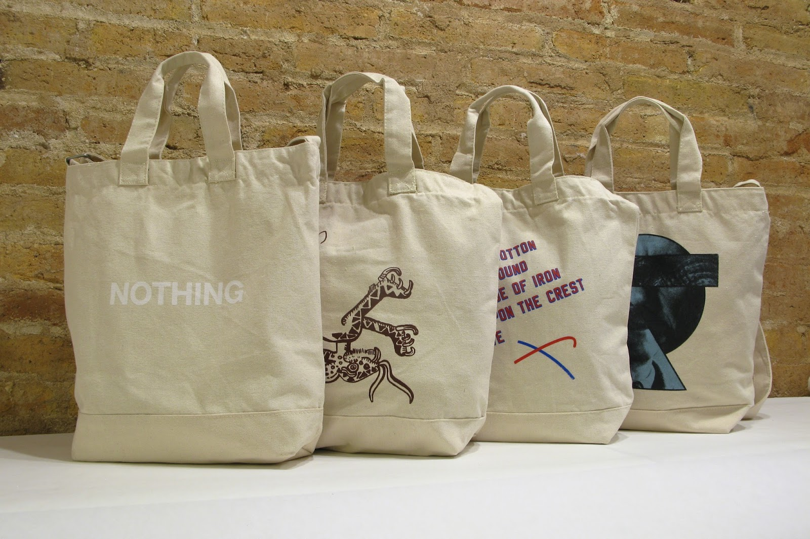 ad9edd3029d0 Latitudes  limited edition tote bags presented in the Asia Art Archive s  exhibition