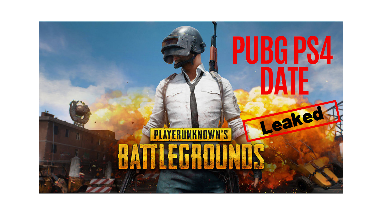 is there pubg for ps4