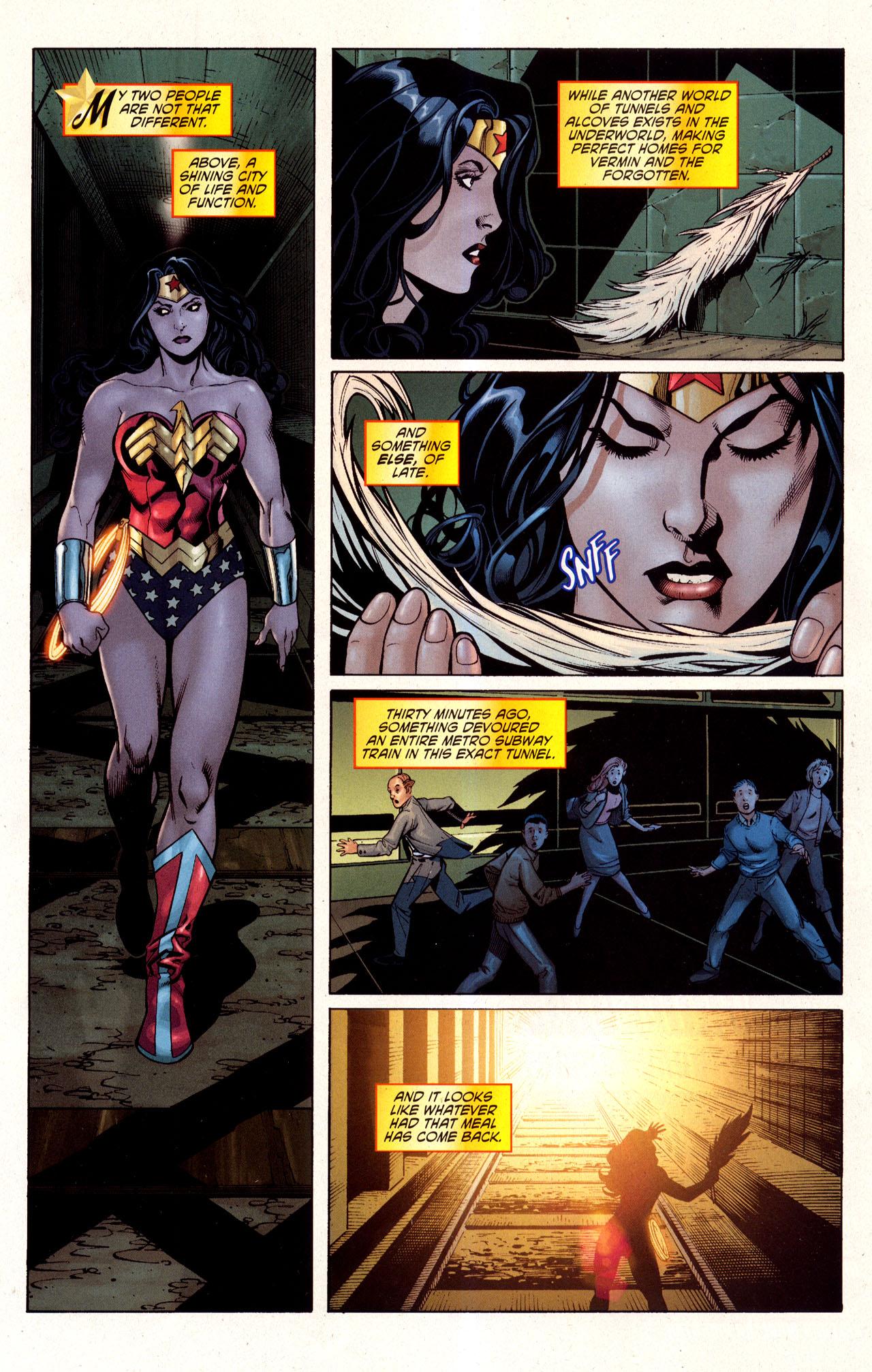 Read online Wonder Woman (2006) comic -  Issue #40 - 2