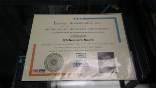 "Picture of the ""Certificate of Authenticity & Registration"""