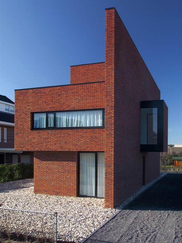 Desain Rumah Bata Modern Minimalis