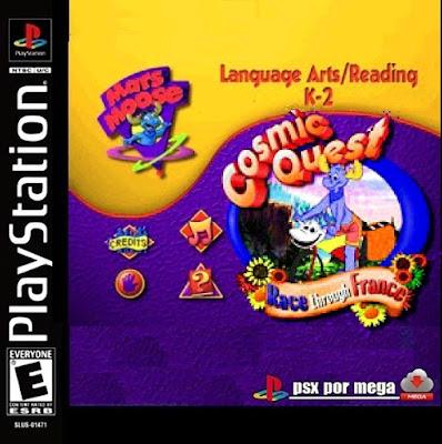 descargar mars mouse cosmic quest 3 : race through france psx mega