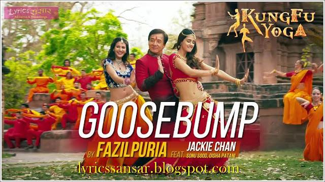 Goosebump Lyrics : Kung Fu Yoga