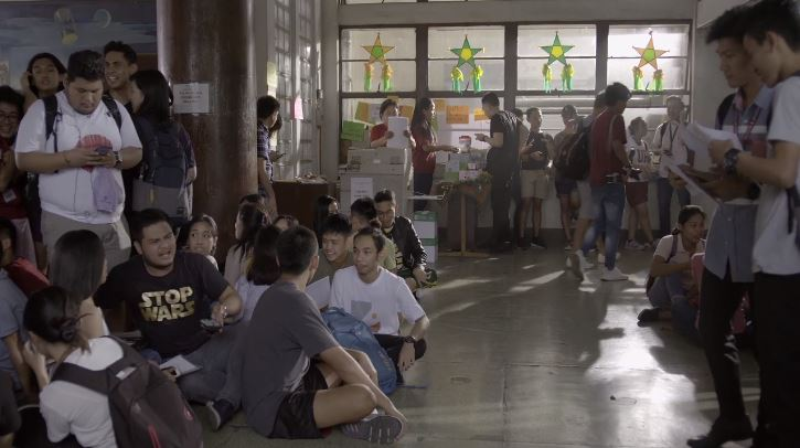 Iska 2019 Cinemalaya film festival entry is set in the University of the Philippines and a commentary on UP and society