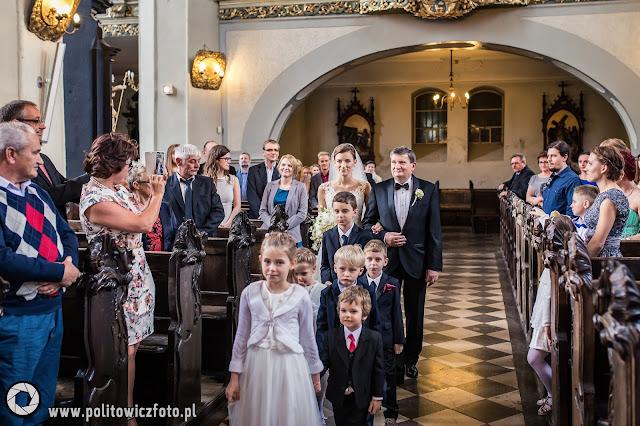 ślub w kościele św. Mikołaja