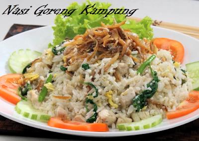 Makanan Melayu Pekanbaru Riau Nasi Goreng Kampung ikan asin