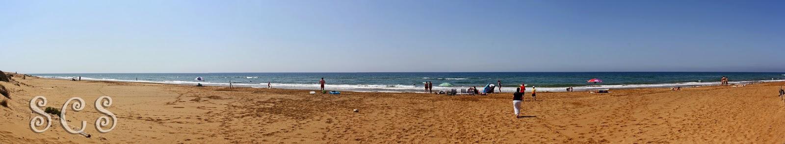 Playa Larga en Calblanque (Murcia)