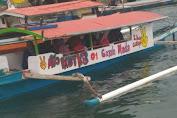 Perahu Ojek Padang-Manarai Ikut Sosialisasikan Program KB