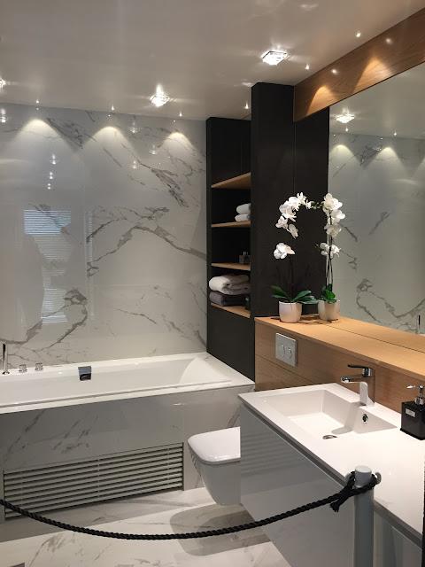 Wienerberg JokiDuo, marmorilaatta, hotellimainen kylpyhuone, casalgrande padana marmoker, Porin asuntomessut, täydellinen kylpyhuone, asuntomessut