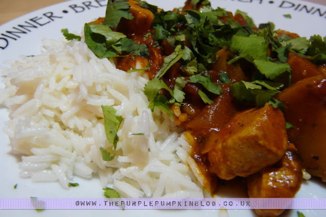 Low Calorie Chicken Balti Recipe