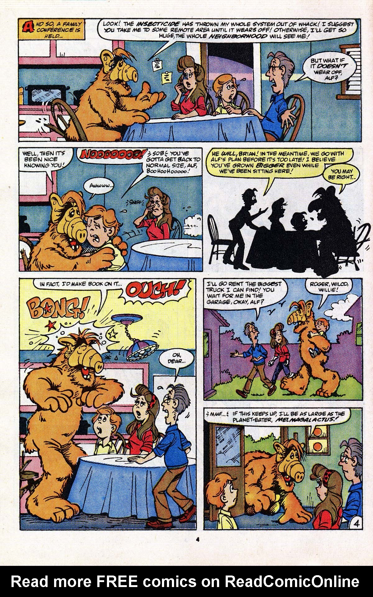Read online ALF comic -  Issue #18 - 5