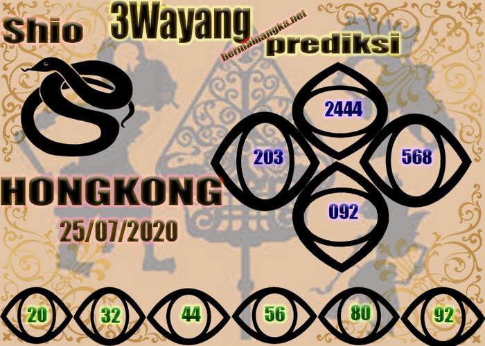 Kode syair Hongkong Sabtu 25 Juli 2020 164