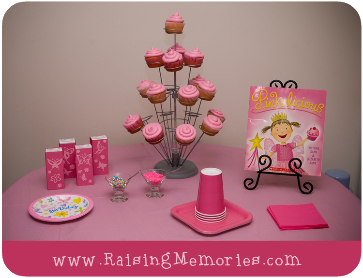 Today I Will Share With You The Pinkalicious Birthday Party That Threw For My New Little 3 Year Old