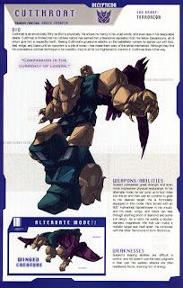 Transformer Cutthroat