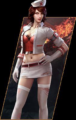 Agak sedikit berbeda antara karakter global atau indonesia dengan versi VN Gambar Semua Karakter Free Fire PNG Transparan Versi VN