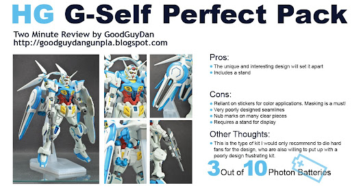 Two Minute Review: HG G-Self Perfect Pack