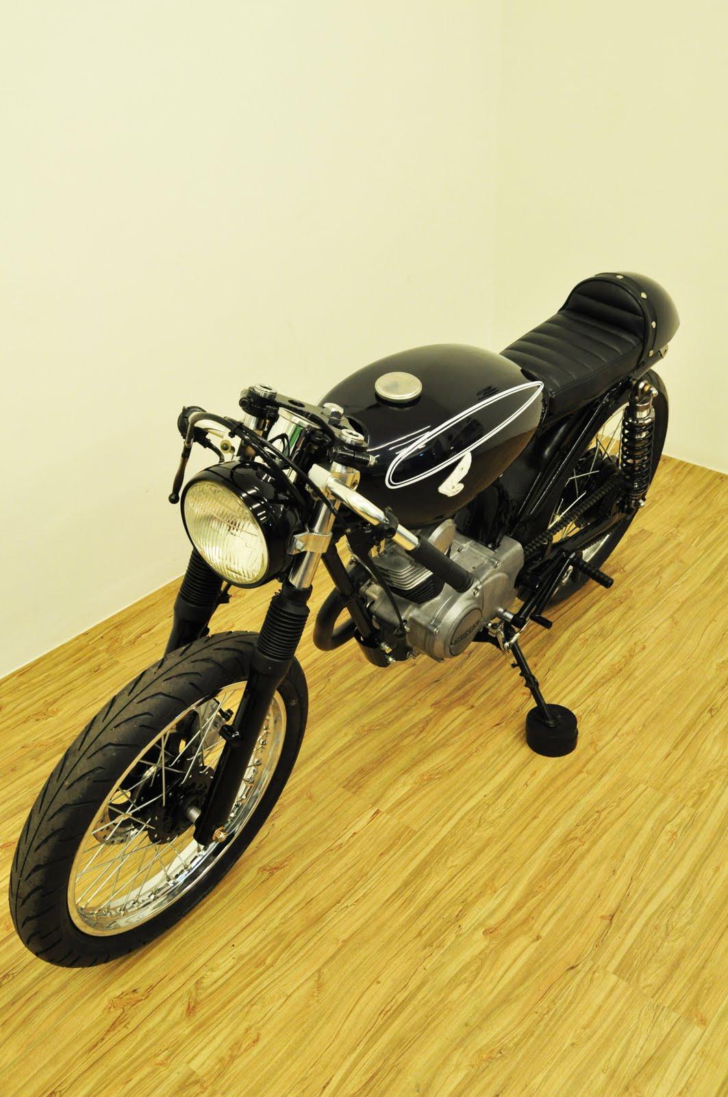 Ducati Scrambler Cafe Racer >> Cafe Racer Special: Honda CB 100 Cafe Racer