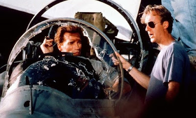 Arnold Schwarzenegger detrás de las cámaras