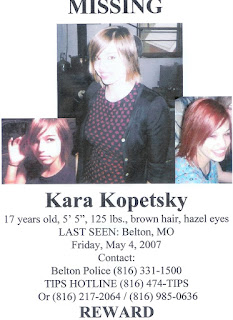 Image result for kara kopetsky missing poster