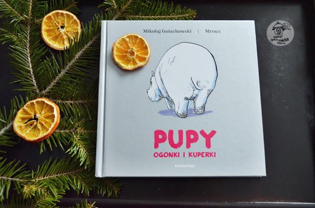 Recenzja książki Pupy, ogonki i kuperki - Mikołaj Golachowski.