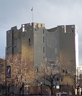 Ponti's North Building at the Denver Art Museum in Colorado had a castle-like appearance