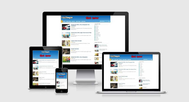 TdbSimple responsive blogspot template