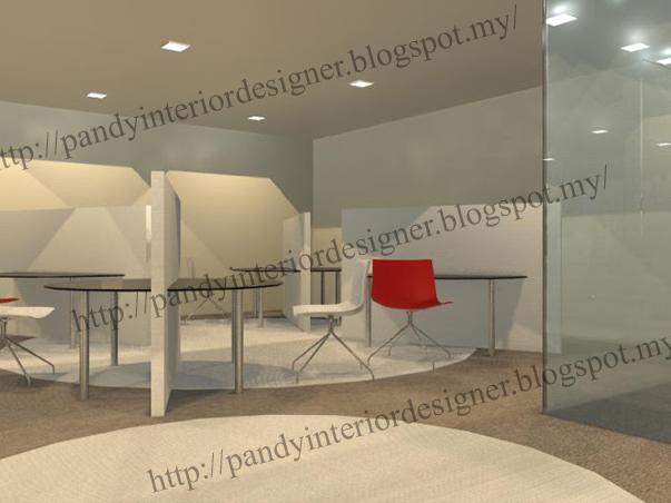 Pandyinteriordesigner office design skill 3d max for Office design 3d max