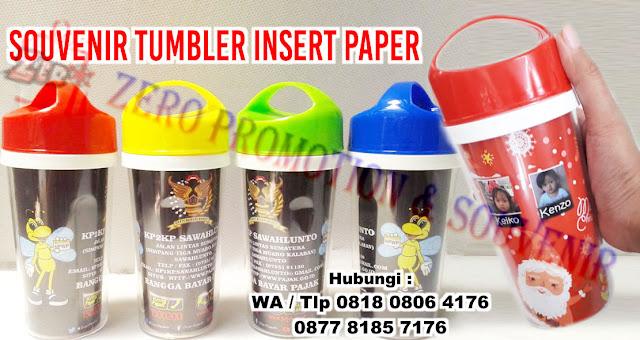 Jual Souvenir Tumbler Insert Paper di Tangerang