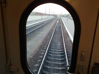 Поїзд № 372 Львів-Могилів