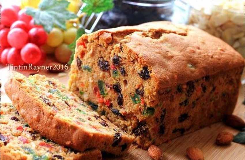 Resep Membuat English Fruit Cake Classic Yang Rich dan Delicious Bingiiiit