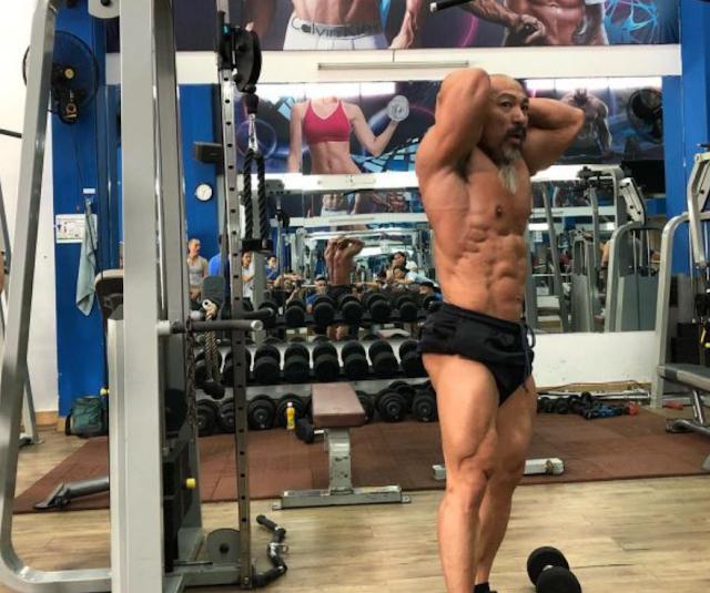 Quá trình tập luyện của gym thủ Lý Nhơn