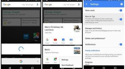 Aktifkan Google Now On Tap