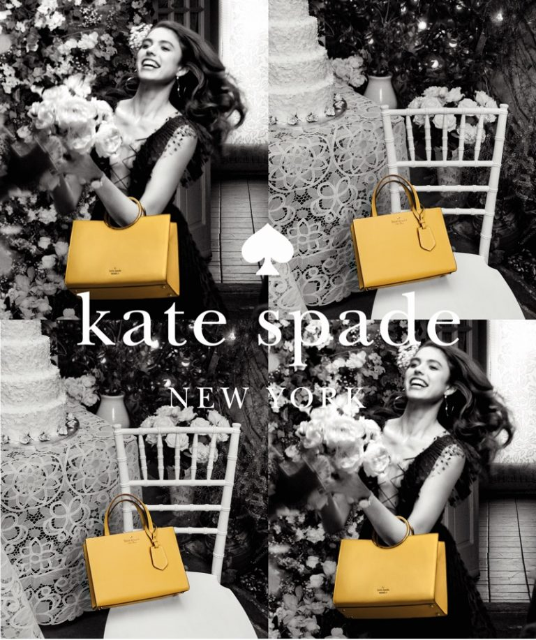 Margaret Qualley is in Full Bloom for Kate Spade's Summer 2018 Campaign