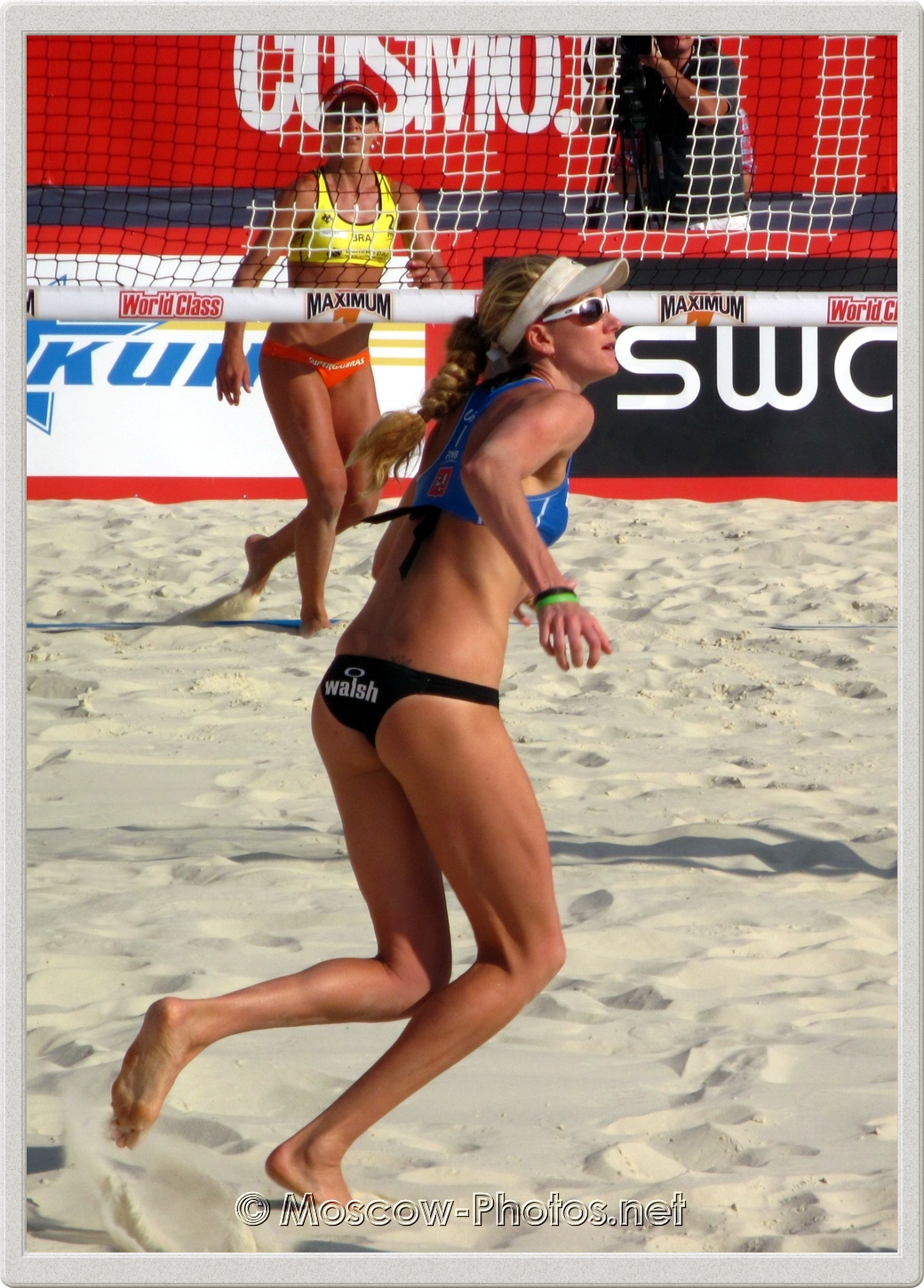 Kerri Walsh in Moscow