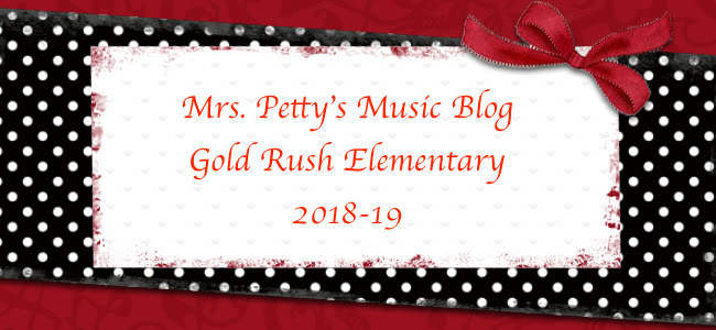 Mrs. Petty's 2018-19 GRE Music Blog