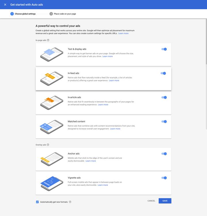 Google Adsense Perkenal Auto Ads