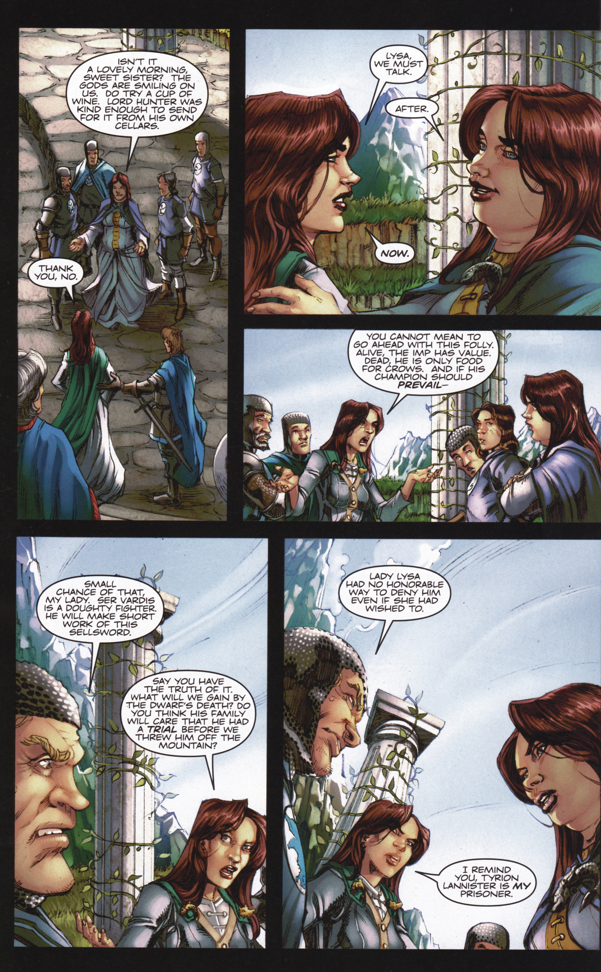 Read online A Game Of Thrones comic -  Issue #13 - 22