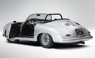 1958 Porsche 356 Speedster Convertible Rear Left