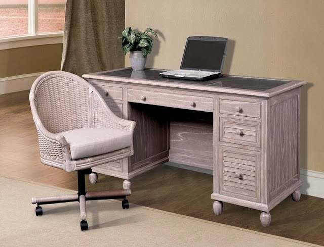 solid wood home office desk distressed design ideas